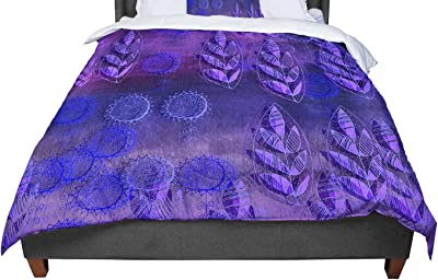 88 X 88 KESS InHouse Marianna Tankelevich Fuzzy Feeling Queen Comforter