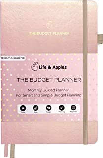 $21 » Life & Apples Budget Planner - Monthly Budgeting Notebook for Family and Personal Finance - Expense Tracker Journal, Bill ...