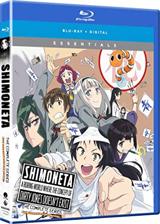 SHIMONETA A Boring World Where The Concept Of Dirty Jokes Doesn't Exist Essentials Blu-Ray(下ネタという概念が存在しない退屈な世界 全12話)
