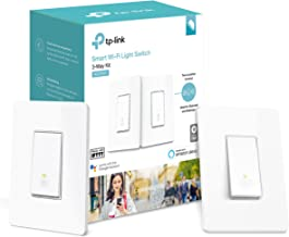 Kasa Smart Wi-Fi Light Switch, 3-Way Kit by TP-Link - Control Lighting from Anywhere, Easy In-Wall Installation (3-Way Only), No Hub Required, Works with Alexa and Google Assistant (HS210 KIT)