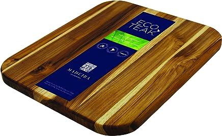 "Madeira Large Teak Cutting Board 12.25"" x 14.5"" Cutting Board Wood"