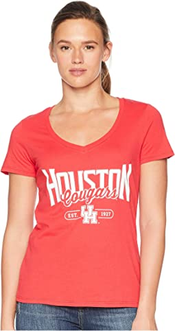 Houston Cougars University V-Neck Tee