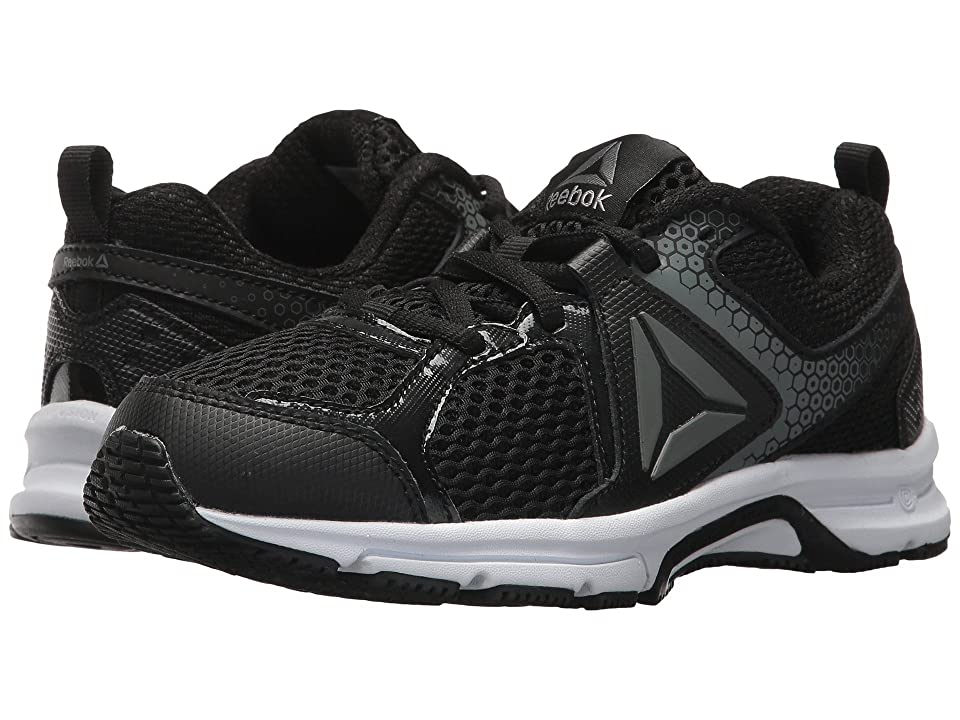 Reebok Kids Runner 2.0 (Little Kid/Big Kid) (Black/Pewter/Steel 1) Boys Shoes