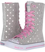 SKECHERS KIDS - Twinkle Toes - Shuffles 10661L Lights (Little Kid/Big Kid)