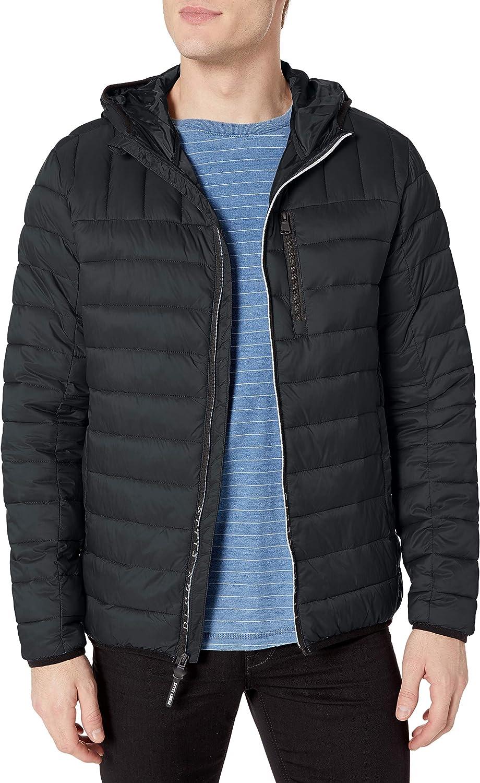 Perry Ellis Men's Classic Packable Puffer Jacket