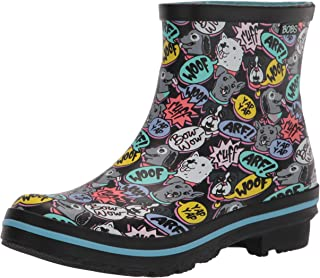 Skechers Rain Check - Happy Yappy print rain boot womens Rain Boot
