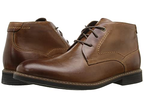 Chukka Leather Brown Classic Chocolate Break Rockport BrownDark YxEqZvX