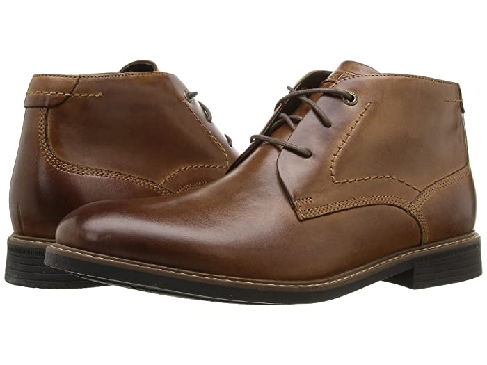 Rockport  Classic Break Chukka (Dark Brown Leather) Mens Boots