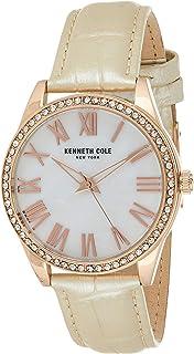 Kenneth Cole Women 's KC50941003 Quartz Brown Watch, beige