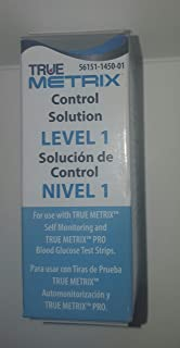 Control Solution Level 1 for TRUE Metrix Meter (1 Each)