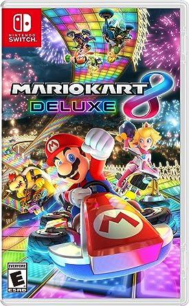 Amazon.com: Mario Kart 8 Deluxe - Nintendo Switch : Mario Kart 8 - Deluxe:  Video Games