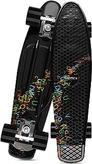 Gonex Skateboard per Bambino Bambina 22 Pollici Skate Penny Board per Ragazzo Ragazza Adulti Principianti Professionisti M...