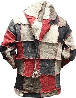 patchwork jacket mens