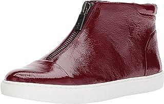 Kenneth Cole New York Womens Kayla High Top Front Zip Sneaker Patent Kayla High Top Front Zip Sneaker Patent Purple Size: 5 US / 5 AU
