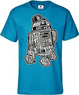 Customized by S.O.S R2D2 Streetart - Camiseta para hombre