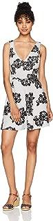 Trixxi Women's Flocked Dress