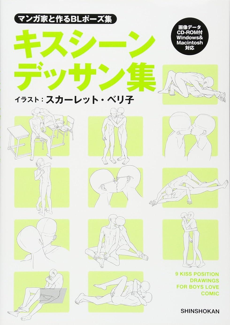 厄介なシーサイド懐疑論マンガ家と作るBLポーズ集 キスシーンデッサン集(データCD付)