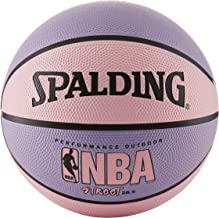 "Spalding NBA Street Basketball - Pink & Purple - Medium Size 6 (28.5 "")"