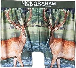 Photo Real-Wild Deer Print Boxer