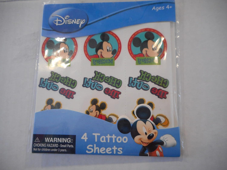 Disney Mickey Maus Tattoos