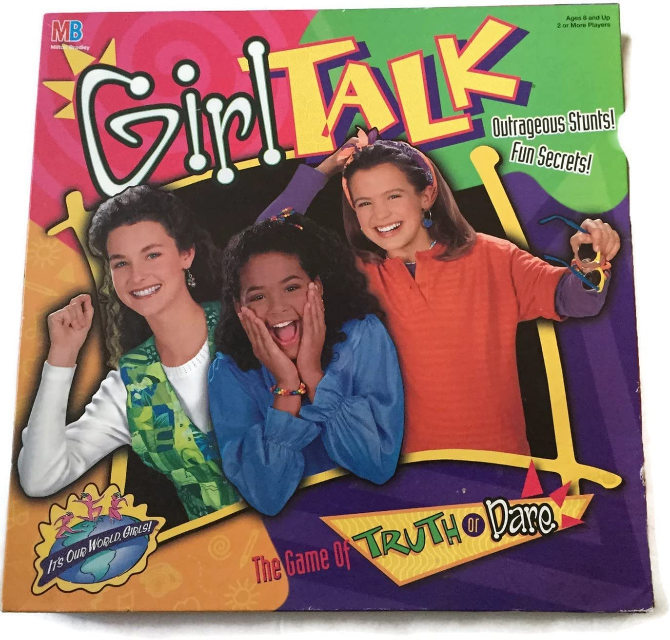 Girl 現品 Talk: お求めやすく価格改定 The Game of or 1995 Dare Edition Truth