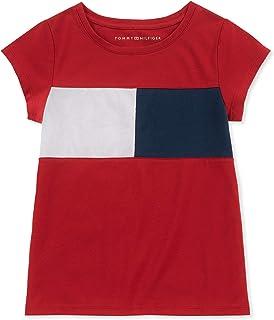 Girls' Core Short Sleeve Scoop Neck Tee Shirt