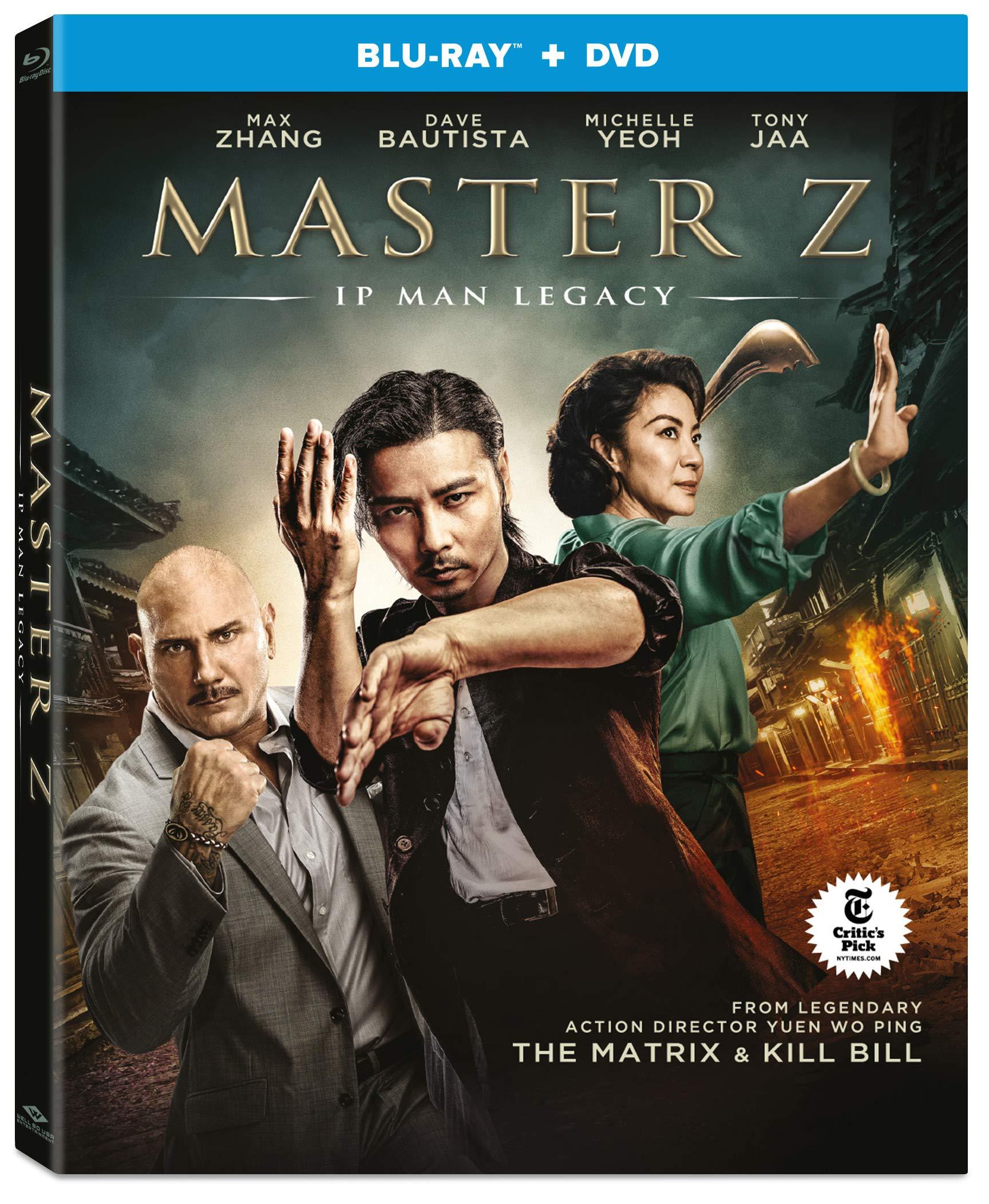 Master Z: Ip Man Legacy [Blu-ray+DVD]: Michelle ... - Amazon.com