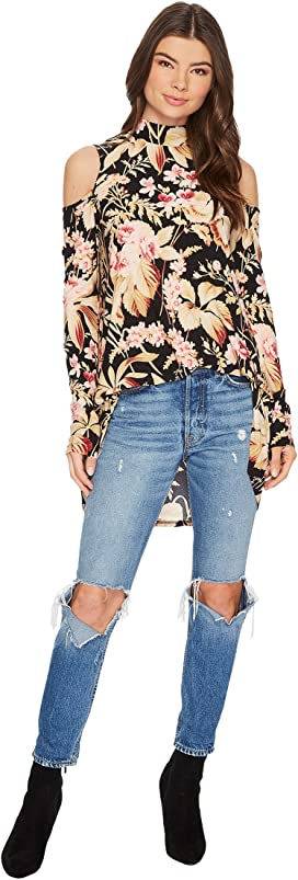 ecda2e7a915cb For Love and Lemons Theo One Shoulder Blouse at 6pm