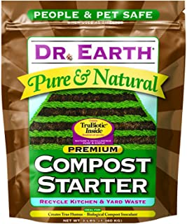 Dr. Earth Pure & Natural Compost Starter 3 lb (4-(Pack))