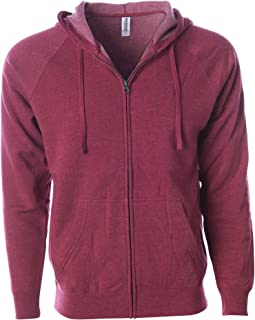Global Blank Super Soft Fleece Sweatshirt Zip Up Hoodie Men and Women
