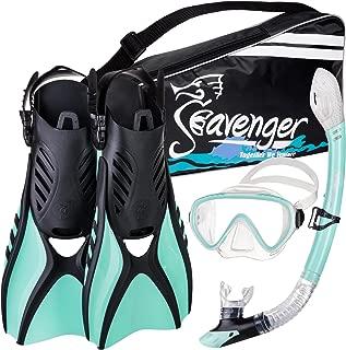 Seavenger Voyager Snorkeling Set with Gear Bag