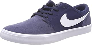 Nike Mens Sb Solarsoft Portmore Ii Skate Casual Sneakers,