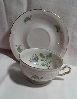Winterling - Bavaria Germany - 3389 B. Fern - Demitassse Tea Cup and Saucer