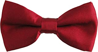 New Soophen Poly Boy's Soild banded Bowtie