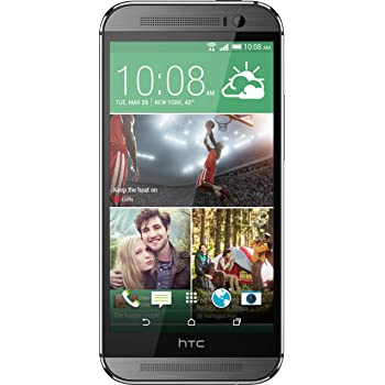 HTC One M8 Factory Unlocked Smartphone with 32 GB Memory, Nano-SIM support and 5.0-Inch Display US Warranty (Gunmetal Grey)