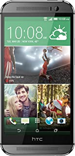 HTC One M8 Factory Unlocked Smartphone with 32 GB Memory, Nano-SIM support and 5.0-Inch..
