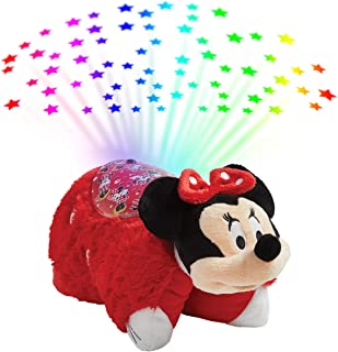 Best Pillow Pets Disney Rockin the Dots Minnie Mouse Sleeptime Lites - Retro Minnie Mouse Plush Night Light Review