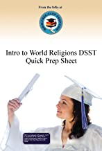 Introduction to World Religions DSST Quick Prep Sheet (www.Free-Clep-Prep.com Quick Prep Series Book 5)