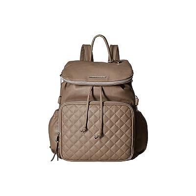 Steve Madden BGenna Logo Backpack (Smoke) Backpack Bags