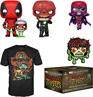 Funko Marvel Collector Corps Subscription Box, Marvel Zombies Theme, September 2020 - XL T-Shirt