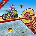 Impossible Tracks Mega Ramp Stunt Bike Racing Simulator: Ultimate Spiral Bike Racing 3D Games 2020