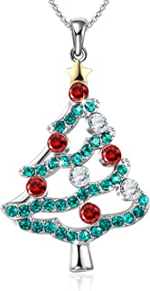 Best gold christmas tree necklace Reviews