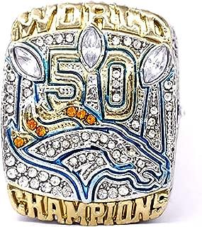 HASTTHOU Super Bowl Championship Replica Ring for Sports Fans (Von Miller)