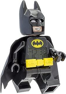 LEGO 9009327 Batman Movie Batman Minifigure Light Up Alarm Clock