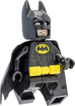 Lego Batman 9009327 Batman Kids Minifigure Alarm Clock | Black/Yelow | Plastic | 9.5 inches Tall | LCD Display | boy Girl | Official