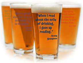 Best funny pint glasses Reviews