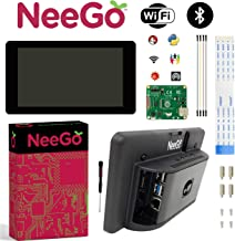 NEEGO Raspberry Pi Touchscreen Display with Screen Case for Raspberry Pi 4 Monitor 7-inch