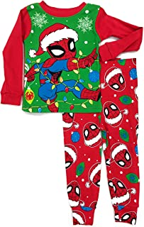 Marvel Spider-Man Little Boys Toddler Christmas Pajama Set