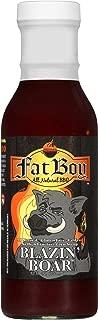 Fat Boy Natural BBQ Blazin' Boar BBQ Sauce, 12 oz