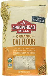 Arrowhead Mills Flour Oat Organic, 16 oz